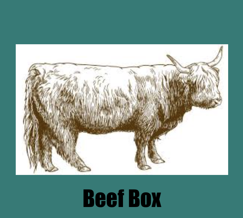 Beef Box, Organic Grass Fed