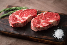 Load image into Gallery viewer, Organic Grass Fed Rib-Eye Steak