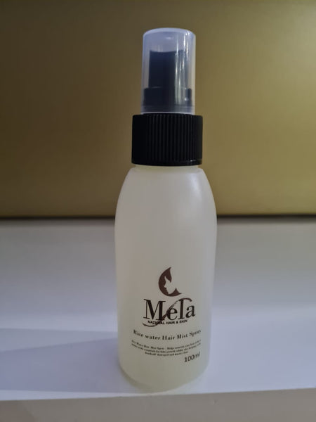 Rice Water Hair Mist Spray - Mela Natural Hair and Skin