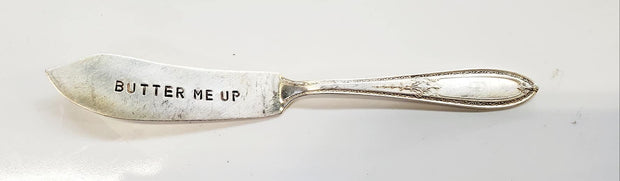 """Butter Me Up"" Quote Knife"