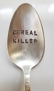 """Cereal Killer"" Quote Spoon"