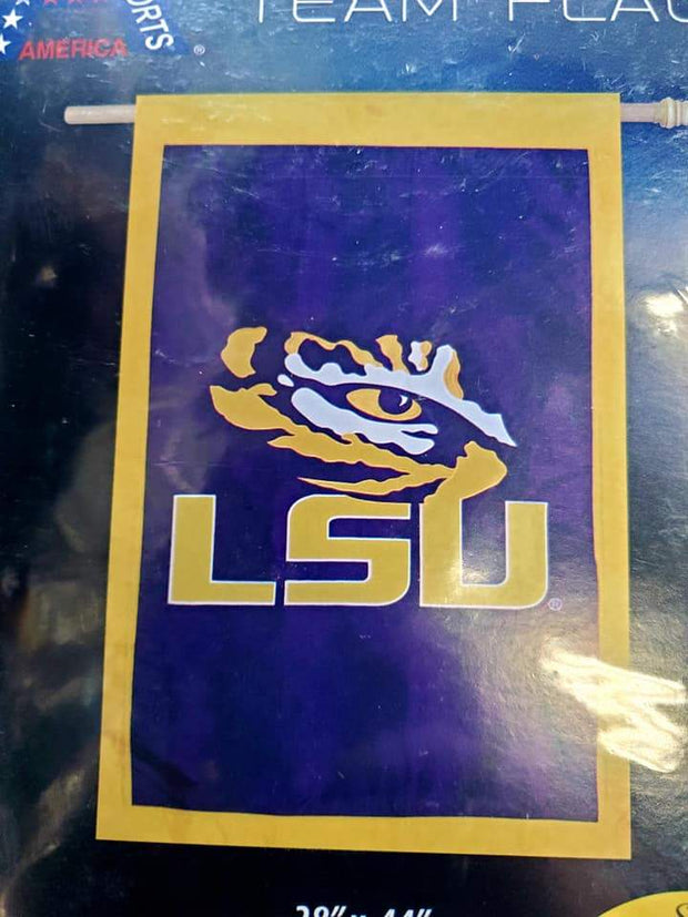 LSU Tiger Eye Blue Flag