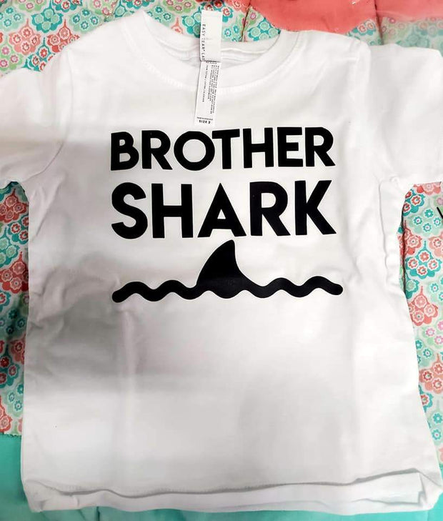 Brother Shark Toddler Shirt