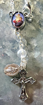 Crystal Auto Blessing Rosary