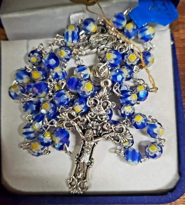 Blue Holy Rosary