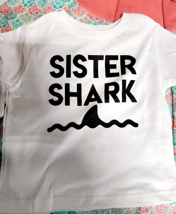Sister Shark Toddler Shirt
