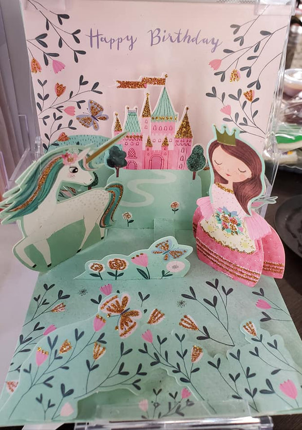 Fantasy Pop Up Birthday Card