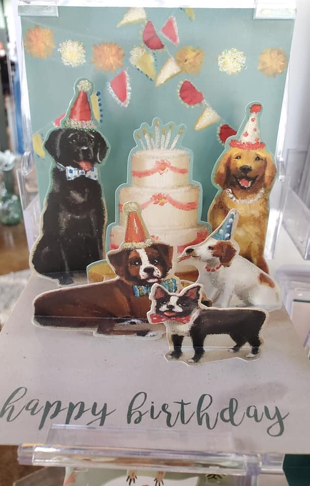 Party Puppies Pop Up Birthday Card