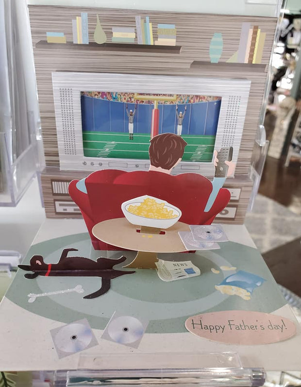 Fathers Day Pop Up Card