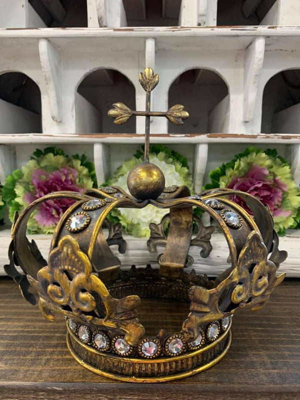 Gold Table Top Crown