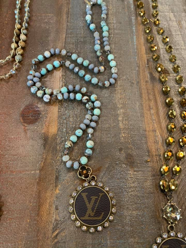 LV Repurposed Necklaces