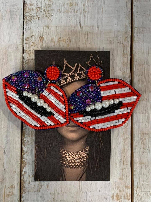 Americana Statement Earrings