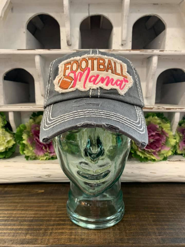 Football Mama Ladies Ball Cap