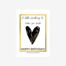 Load image into Gallery viewer, UNCU London 'Happy Birthday' Gift Card