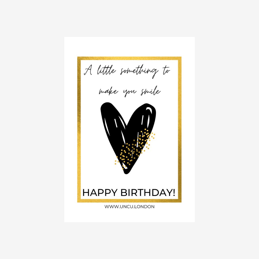 UNCU London 'Happy Birthday' Gift Card