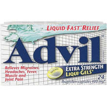 Advil Liqui-Gels Extra Strength 400mg Capsule X24 Capsules