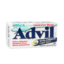 Advil Liqui-Gels Extra Strength 400mg Capsules X50 Capsules