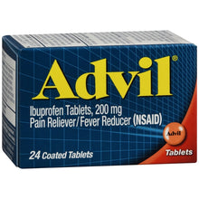 Advil Tablets 200mg X24 Tablets