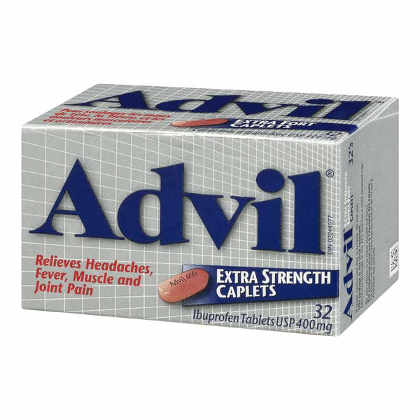 Advil Extra Strength Caplet 400mg X32 Caplets