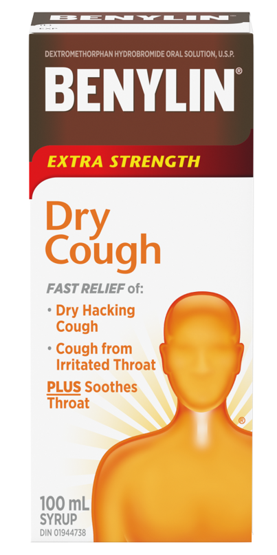 Benylin Dm Dry Cough Extra Strength Syrup
