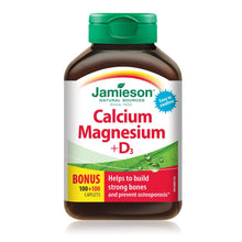 Calcium & Magnesium & Vitamin D Tablets Jamieson X100+100 Tablets