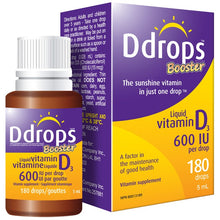 D Drops Infant Booster Drops 600iu X5ml Bottle