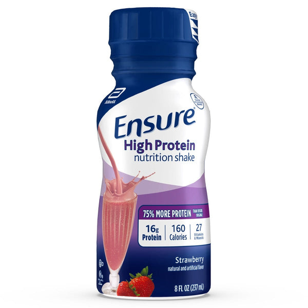 Ensure High Protein Strawberry Flavor Ready to Drink 6x235ml Cartons