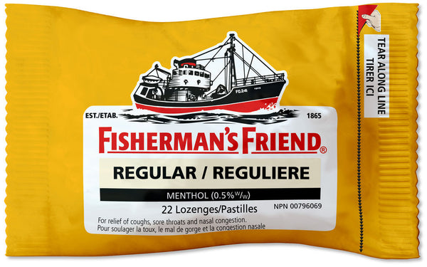 Fishermans Friend Lozenge Regular Flavor