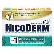 Nicoderm Patch Rx (Step 1) 21mg  X7 Patches