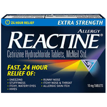 Reactine Extra Strength Tablet 10mg