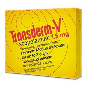 Transderm V 1.5mg Travel Sickness Patches X2 72hour Patches