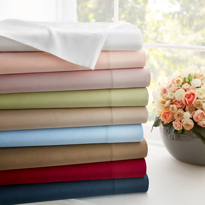 1200 Thread Count 100% Egyptian Cotton Solid Sheets