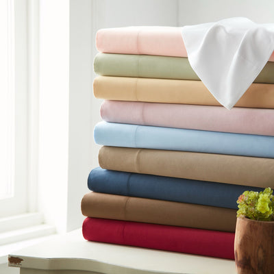 800 Thread Count 100% Egyptian Cotton Solid Sheets