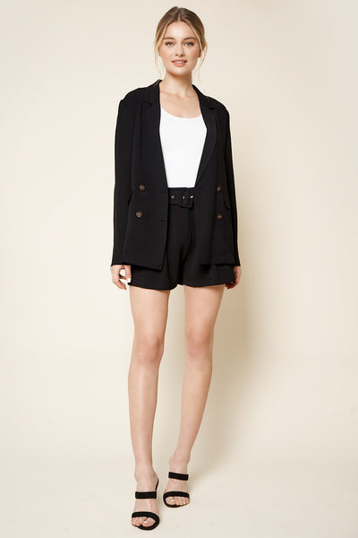 Supreme Button Blazer