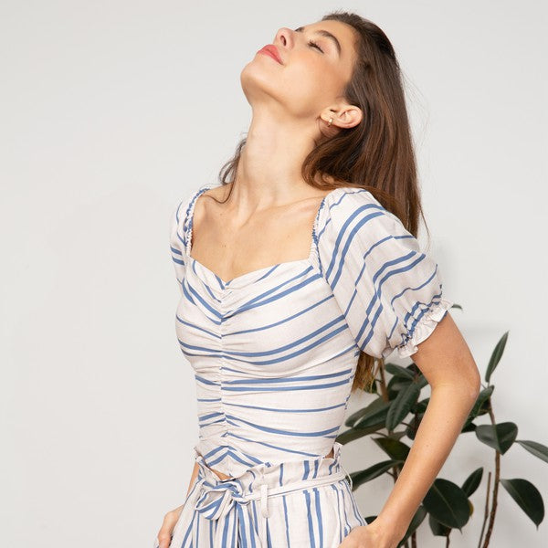 Mila Striped Top