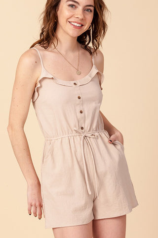 Front Button Romper