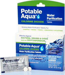 Water Safety Chlorine Dioxide Tablets