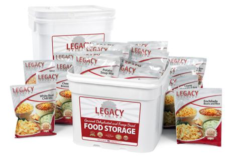 720 Servings - 185 Lbs of Premium Long Term Food Storage - 2 Person / 3 Months