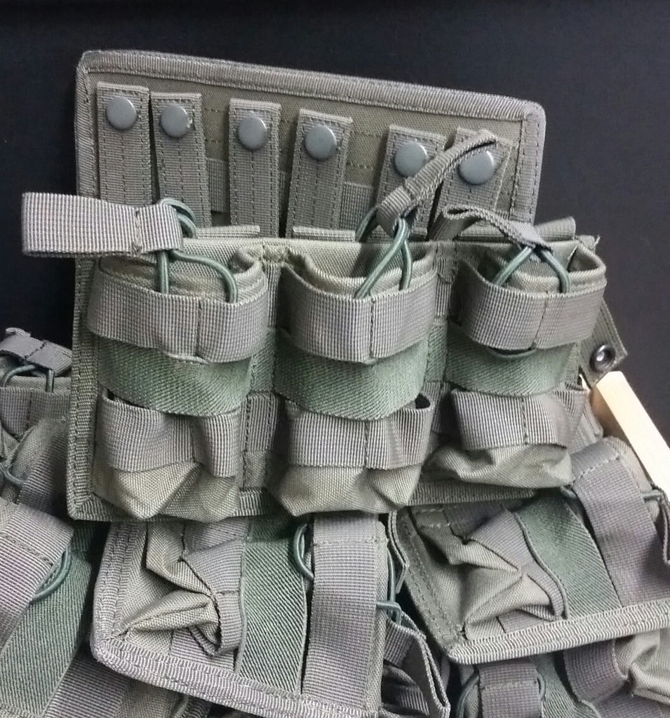 Surplus M4 Triple Magazine Pouch w/ MOLLE