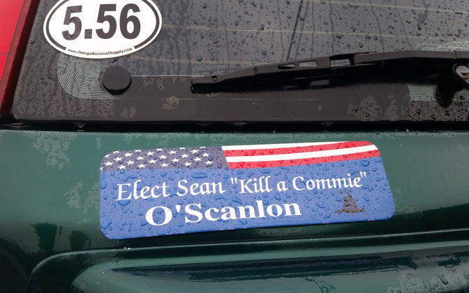 Sean O'Scanlon Retro Magnetic Bumper Sticker