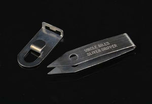 Stainless steel tweezers for splinter pulling by Uncle Bill