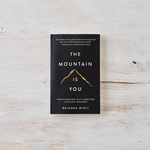 The Mountain Is You Book