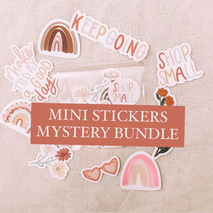 Mystery MINI Stickers Pack // Surprise, Random