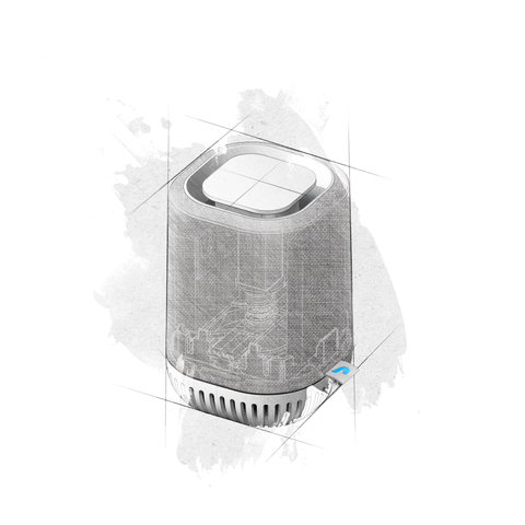 Aura Air mini portable air purifier