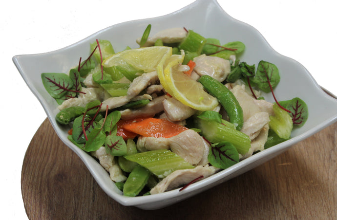 Chinese Chicken and Snow Pea Stir Fry