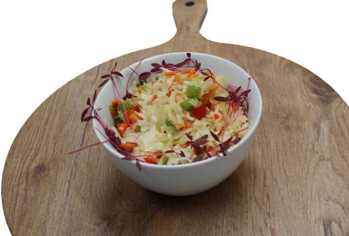 Vegetable Garden Coleslaw