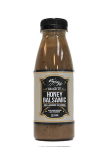 Honey Balsamic salad dressing made by Ely's Fine Foods