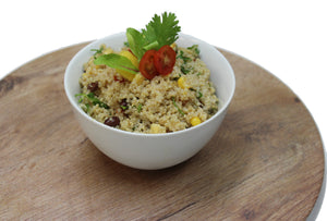 Quinoa with Mango, Corn & Black Beans