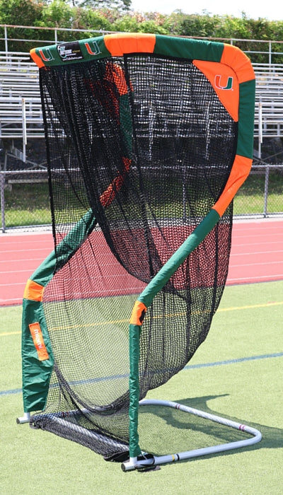 University of Miami Kicking Net Football