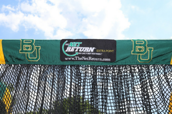 Baylor University Custom Football Kicking Net